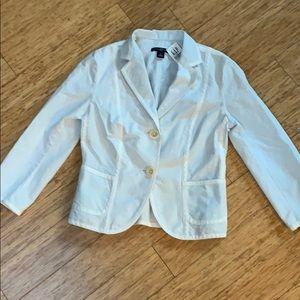 Gap pin striped blazer NWT